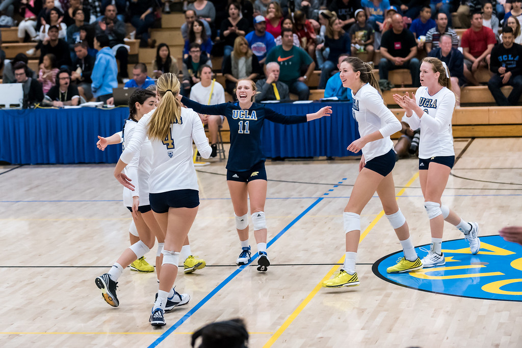 UCLA Women's Volleyball vs. Oregon State @ Collins Court, Wooden Center