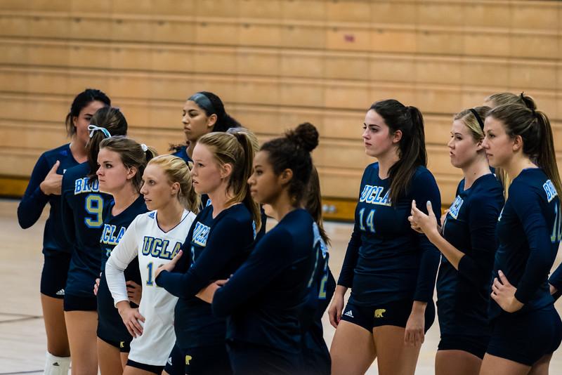 UCLA Women's Volleyball vs. Virginia @ Collins Court, Wooden Center