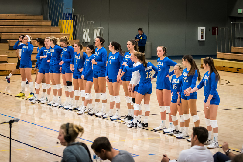 UCLA Women's Volleyball vs. Oregon   @ Collins Court, John Wooden Center
