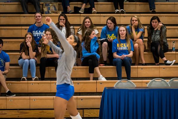 UCLA Women's Volleyball vs. Oregon   @ Collins Court, John Wooden Center