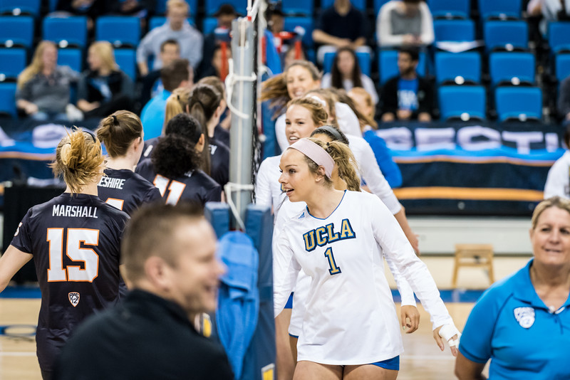 UCLA Women's Volleyball vs. Oregon State  @ Pauley Pavilion