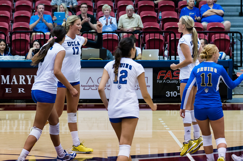 UCLA Women's Volleyball vs. Binghamton @ Gersten Pavilion, LMU