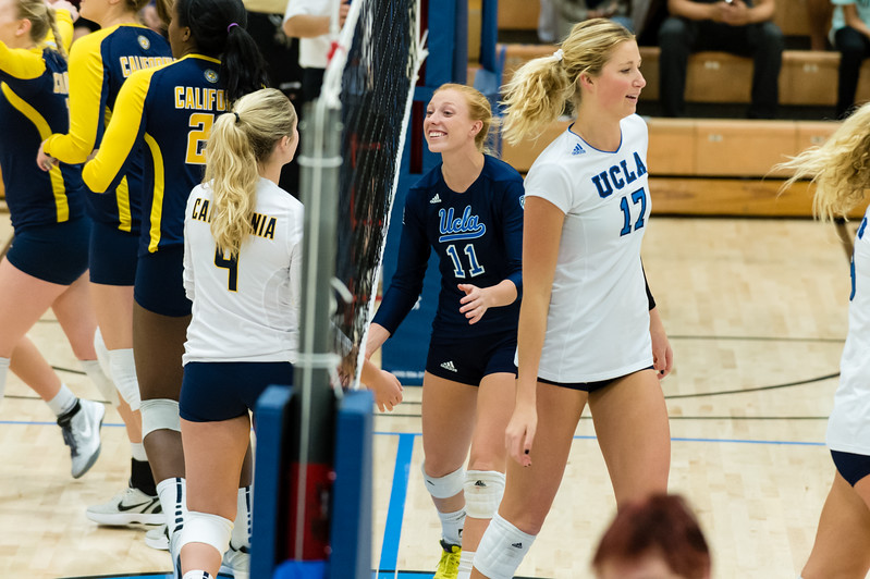 UCLA Women's Volleyball vs. Cal @ Collins Court, Wooden Center