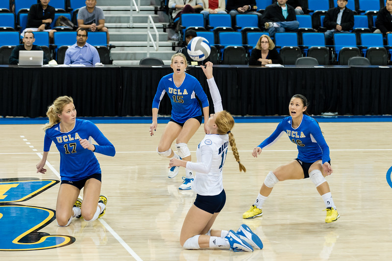 UCLA Women's Volleyball vs. LIU Brooklyn @ Pauley Pavilion (NCAA Tournament - Round 1)