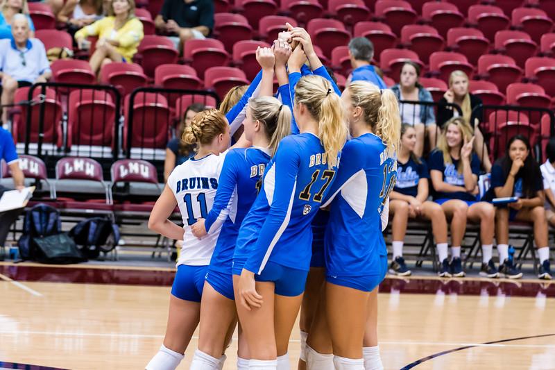 UCLA Women's Volleyball vs. LIU Brooklyn @ Gersten Pavilion, LMU