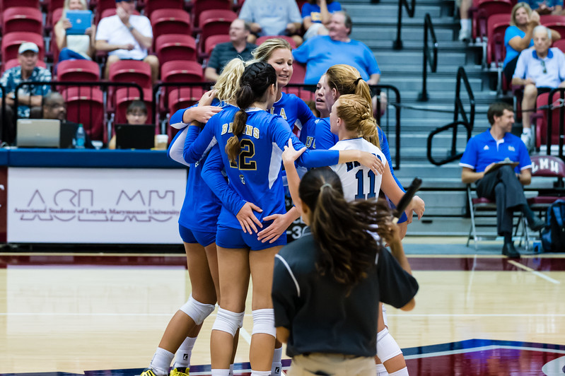 UCLA Women's Volleyball vs. LIU Brooklyn @ Gersten Pavilion, LMU