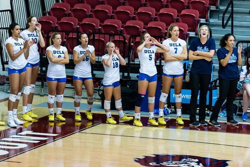 UCLA Women's Volleyball vs. Loyola Marymount @ Gersten Pavilion, LMU