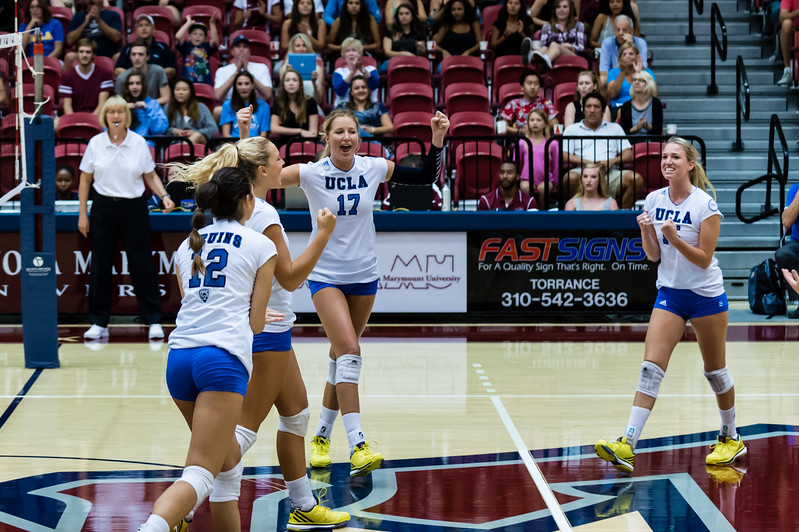 UCLA Women's Volleyball vs. Loyola Marymount @ Gersten Pavilion, LMU