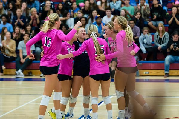 UCLA Women's Volleyball vs. Oregon State @ Crossroads Gym, Santa Monica