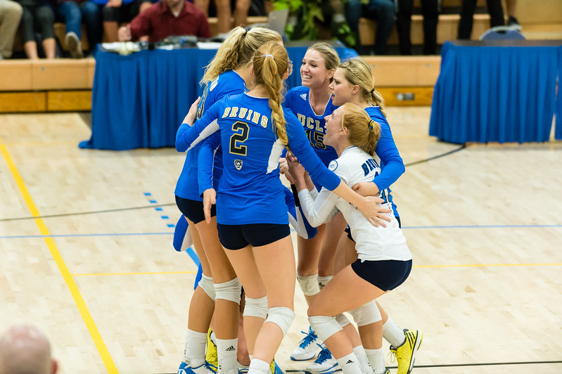 UCLA Women's Volleyball vs. Stanford @ Collins Court, Wooden Center