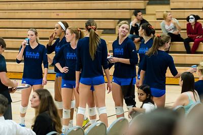 UCLA Women's Volleyball vs. Washington @ Collins Court, Wooden Center