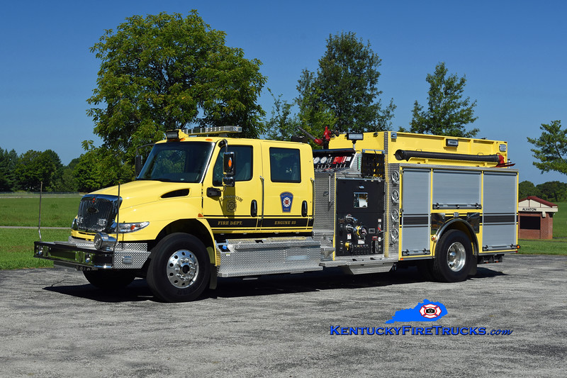 Alvaton Engine 23 <br /> 2020 International 4400/Pierce 1500/1000/30<br /> Kent Parrish photo