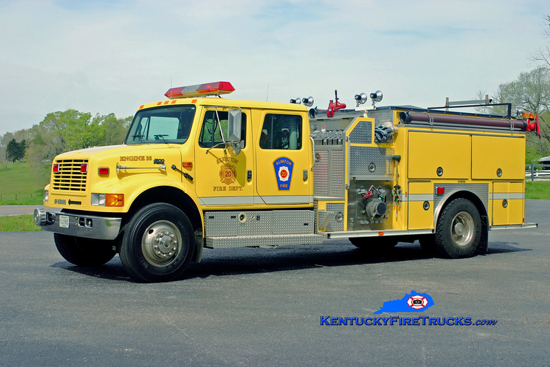 <center> Alvaton  Engine 26 <br> 1996 Interntional 4900/E-One 1250/1000 <br> Kent Parrish photo </center>