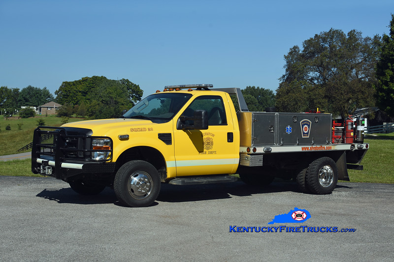 REASSIGNED <br /> Alvaton  Squad 22<br /> 2009 Ford F-350 4x4/Trailer World/FD 250/250<br /> Kent Parrish photo