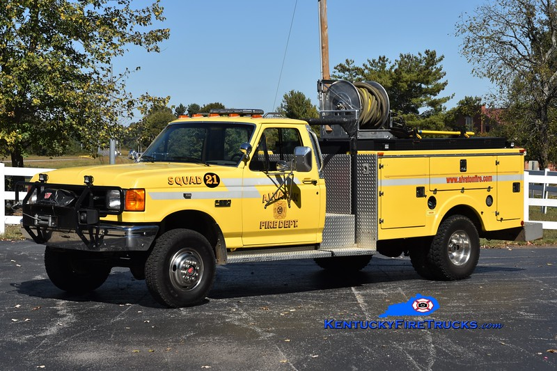 Alvaton Squad 21<br /> x-Squad 20<br /> 1988 Ford F-350 4x4/Stewarts 250/250<br /> Greg Stapleton photo