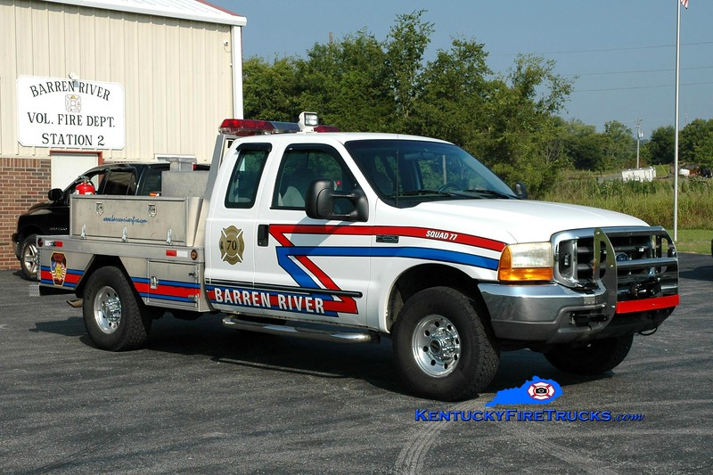 <center> Barren River Squad 77 <br> 1998 Ford F-250 4x4/Local 250/250 <br> Greg Stapleton photo </center>
