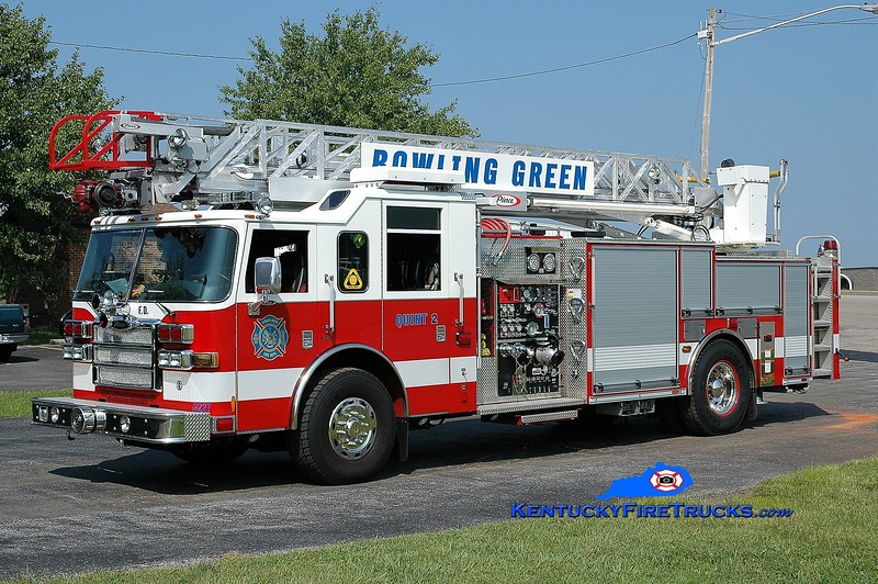 REASSIGNED <br /> Bowling Green  Quint 2<br /> x-Quint 1 <br /> 2007 Pierce Dash 1500/500/30/75' <br /> Greg Stapleton photo