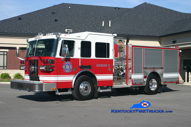 <center> REASSIGNED <br> Bowling Green  Engine 2 <br> 2008 Sutphen Shield 1500/500/30 <br> Kent Parrish photo </center>