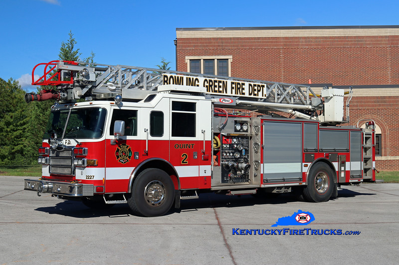 REASSIGNED <br /> Bowling Green  Quint 2<br /> x-Quint 1 <br /> 2007 Pierce Dash 1500/500/30/75' <br /> Kent Parrish photo