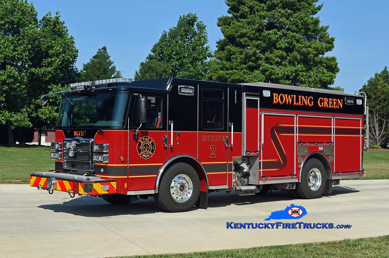 Bowling Green  Engine 2<br /> 2018 Pierce Enforcer 1500/500/30<br /> Kent Parrish photo
