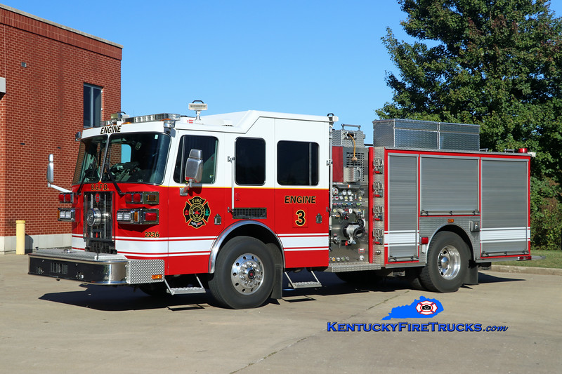 RESERVE <br /> Bowling Green  Engine 3<br /> x-Engine 11<br /> 2009 Sutphen Shield 1500/500/30<br /> Kent Parrish photo