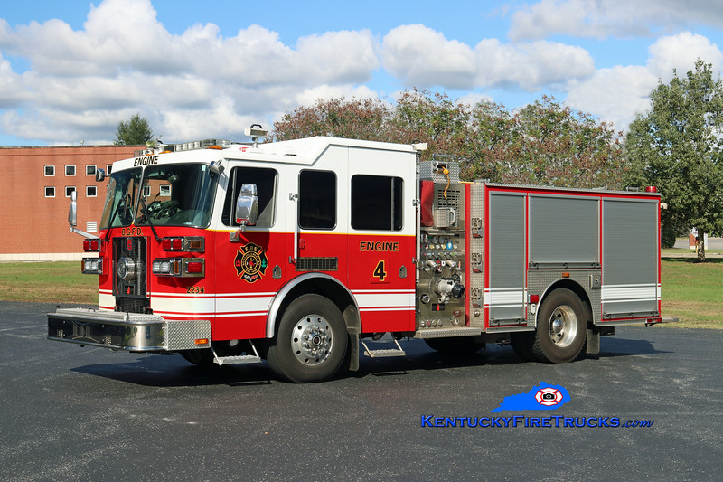 RETIRED <br /> Bowling Green  Engine 4<br /> 2008 Sutphen Shield 1500/500/30<br /> Kent Parrish photo
