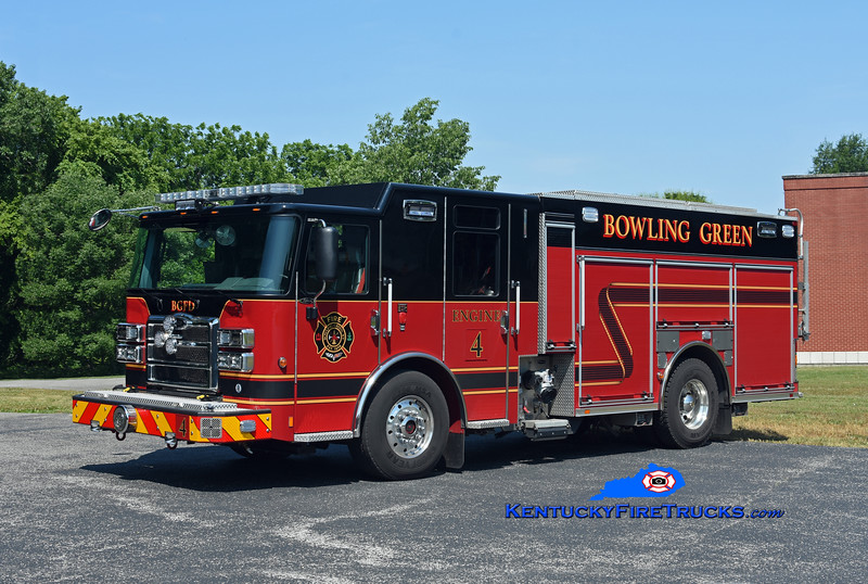 Bowling Green  Engine 4 <br /> 2018 Pierce Enforcer 1500/500/30<br /> Kent Parrish photo