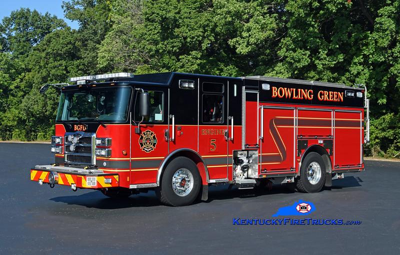 Bowling Green Engine 5<br /> 2020 Pierce Enforcer 1500/500/30<br /> Kent Parrish photo
