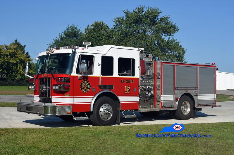 Bowling Green Strike Engine 15 <br /> x-Engine 2 <br /> 2008 Sutphen 1500/500/30<br /> Kent Parrish photo