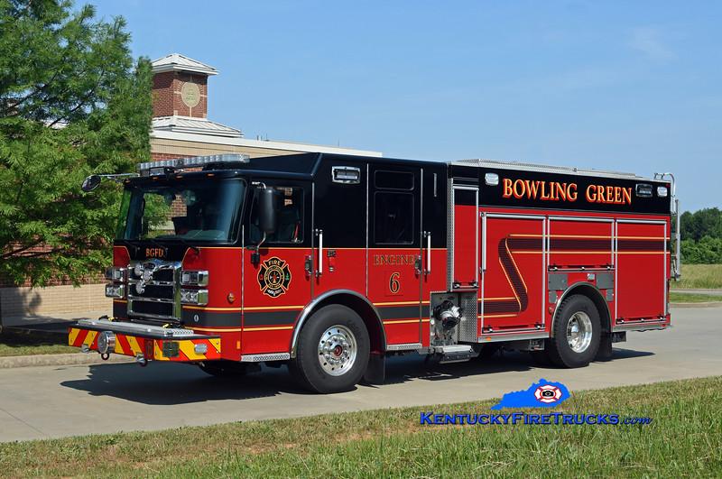 Bowling Green  Engine 6<br /> 2018 Pierce Enforcer 1500/500/30<br /> Kent Parrish photo