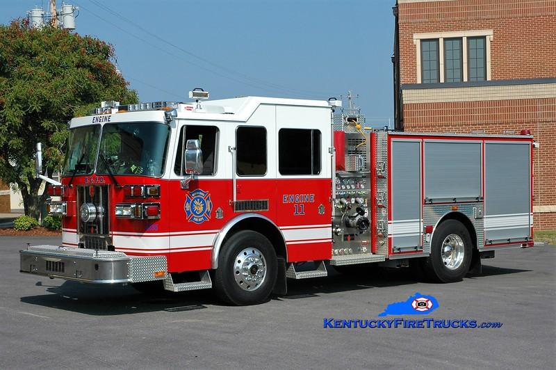 RESERVE <br /> Bowling Green  Engine 11<br /> 2009 Sutphen Shield 1500/500/30<br /> Greg Stapleton photo