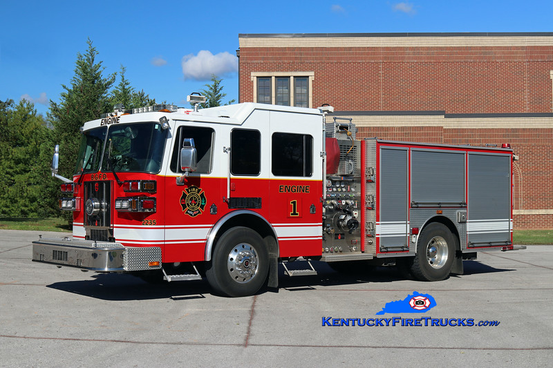 RETIRED <br /> Bowling Green  Engine 1<br /> x-Engine 2 <br /> 2008 Sutphen Shield 1500/500/30<br /> Kent Parrish photo