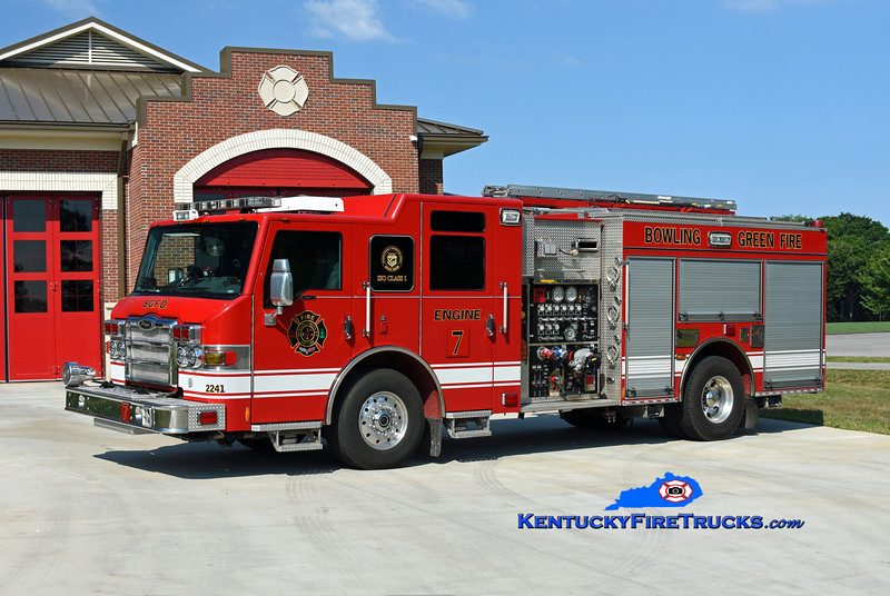Bowling Green  Engine 7<br /> x-Rescue 3 and Engine 5<br /> 2010 Pierce Impel 1500/500/30<br /> Kent Parrish photo
