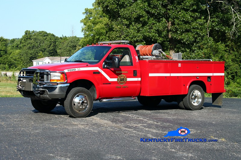 <center> Browning  Squad 10 <br> 2000 Ford F-550 4x4/Stewarts 250/250 <br> Kent Parrish photo </center>