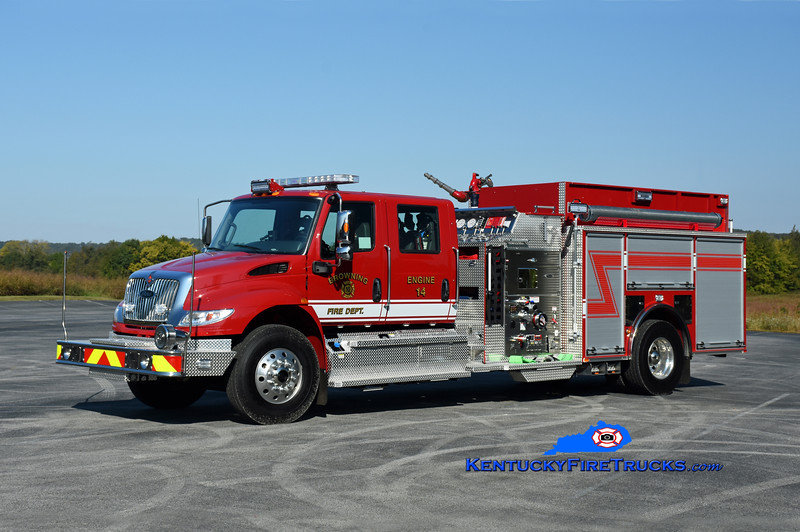 Browning Engine 14<br /> 2020 International 4400/Pierce 1500/1000/30<br /> Kent Parrish photo