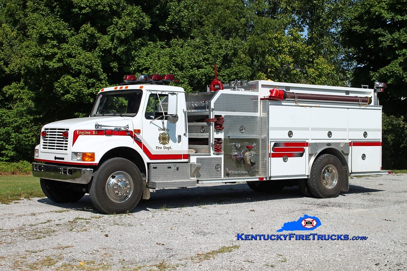 <center> Hadley  Engine 84 <br> 1999 International 4900/E-One 1250/1250 <br> Kent Parrish photo </center>