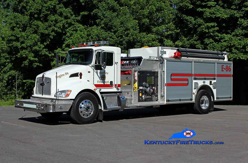 Hadley  Engine 86<br /> 2016 Kenworth T-300/Pierce 1250/1600/30<br /> Kent Parrish photo