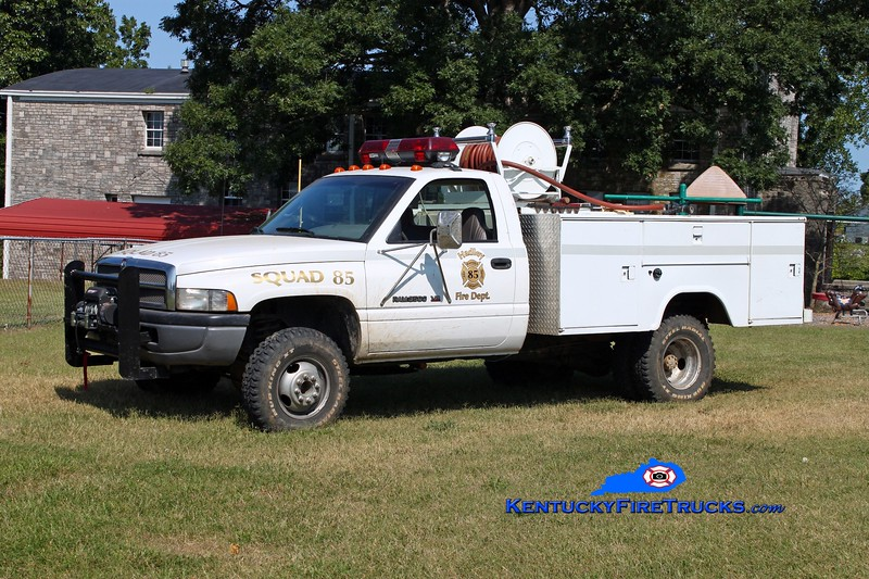 <center> Hadley  Squad 85 <br> 1995 Dodge 3500 4x4/Stewarts 250/250 <br> Kent Parrish photo </center>
