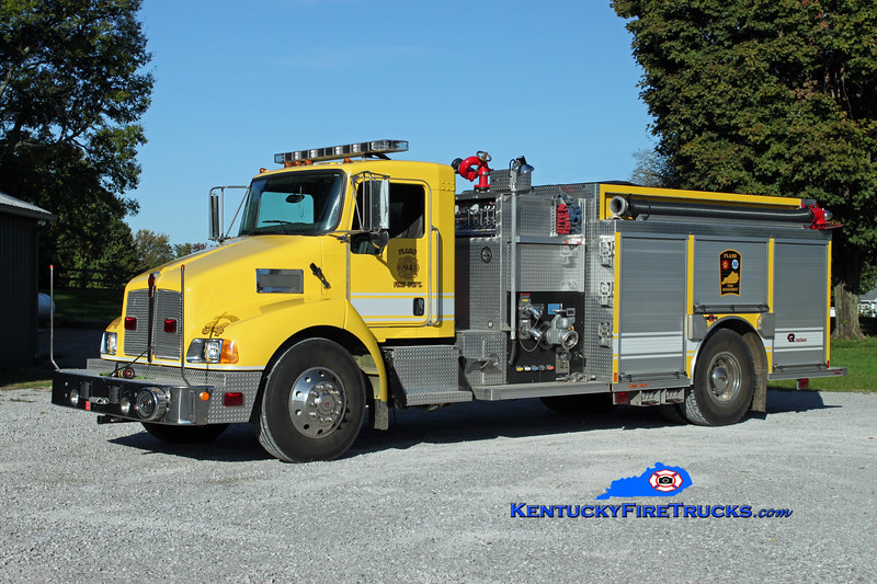 <center> Plano  Engine 94 <br> 2007 Kenworth T-300/Rosenbauer-Central 1250/1000/30 <br> Kent Parrish photo </center>