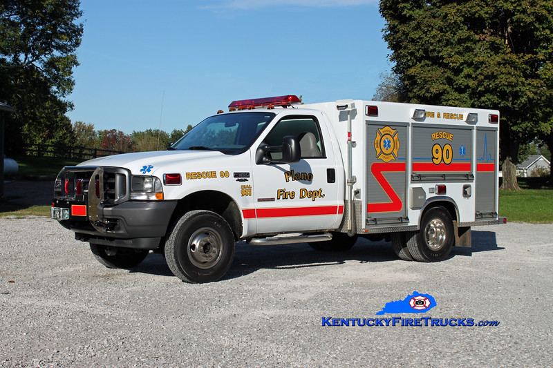 <center> Plano  Rescue 90 <br> 2004 Ford F-350 4x4/Wynn  <br> Kent Parrish photo </center>