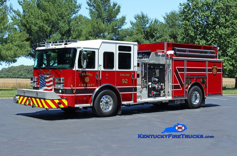 Plano  Engine 92<br /> 2016 Pierce Saber 1250/1000/30<br /> Kent Parrish photo