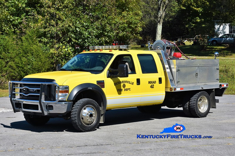 Richardsville  Squad 42<br /> 2012 Ford F-450 4x4/Trailer World/CET 250/300<br /> Greg Stapleton photo