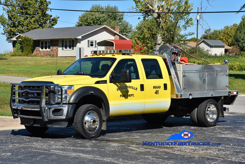 Richardsville  Squad 41<br /> x-Squad 45<br /> 2008 Ford F-450 4x4/Trailer World/CET 250/300<br /> Greg Stapleton photo