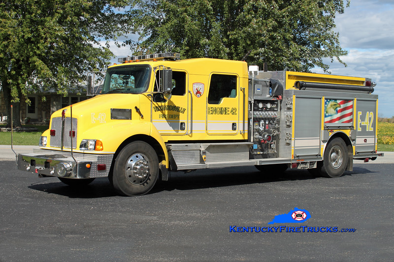 <center> REASSIGNED <br> Richardsville  Engine 42 <br> 2007 Kenworth T-300/Rosenbauer-Central 1250/1000/30 <br> Kent Parrish photo </center>