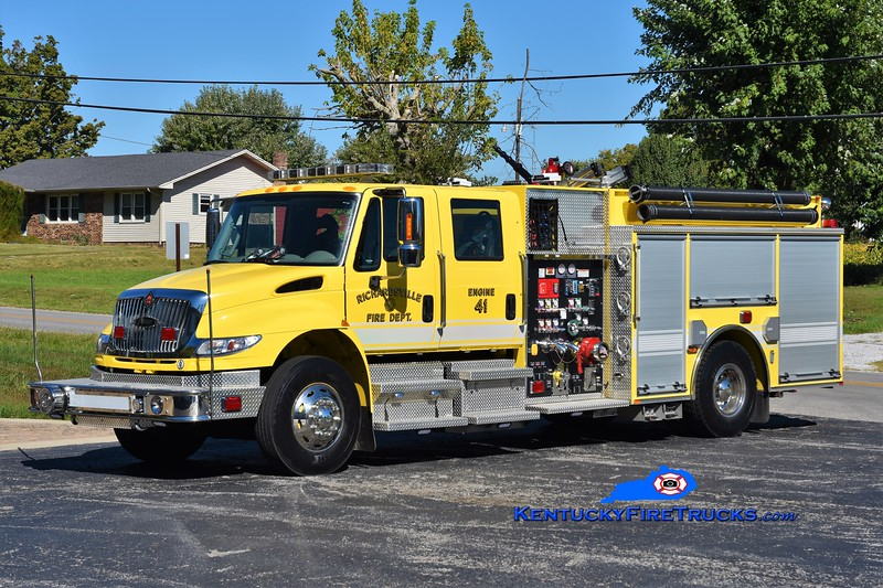Richardsville  Engine 41<br /> 2014 International 4400/Pierce 1250/1000/30<br /> Greg Stapleton photo