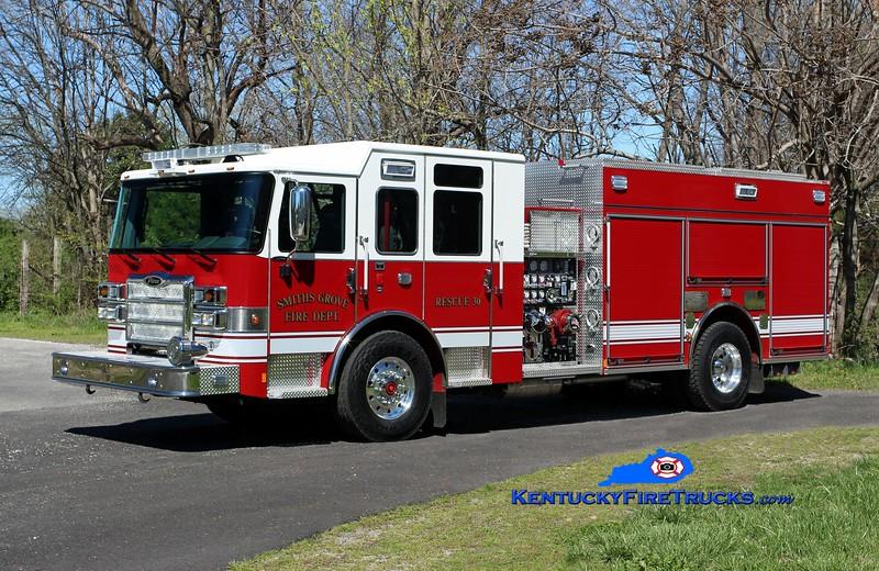Smiths Grove  Rescue 30<br /> 2016 Pierce Enforcer 1500/1000/30<br /> Kent Parrish photo
