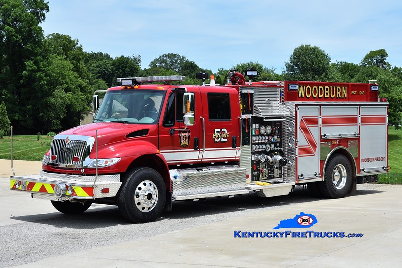 Woodburn  Engine 52<br /> 2019 International 4900/Pierce 1500/1000<br /> Greg Stapleton photo