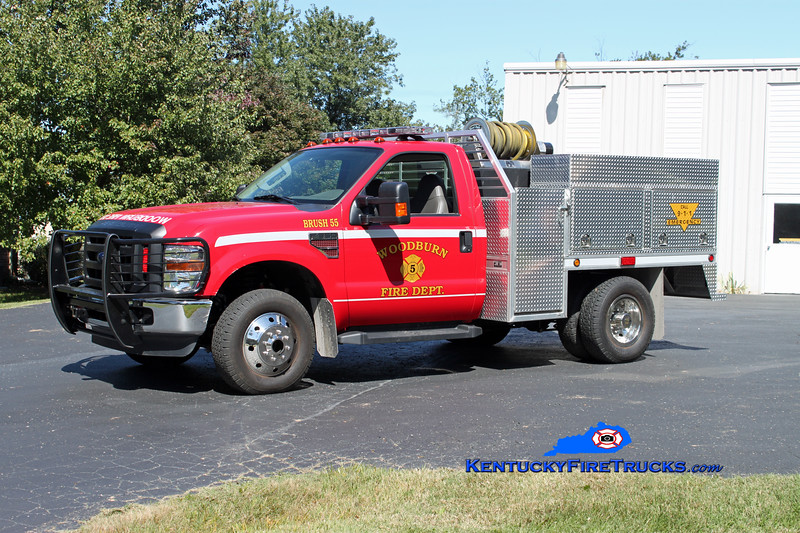 <center> Woodburn  Brush 55 <br> 2008 Ford F-350 4x4/Alum Line 250/250/10 <br> Kent Parrish photo </center>