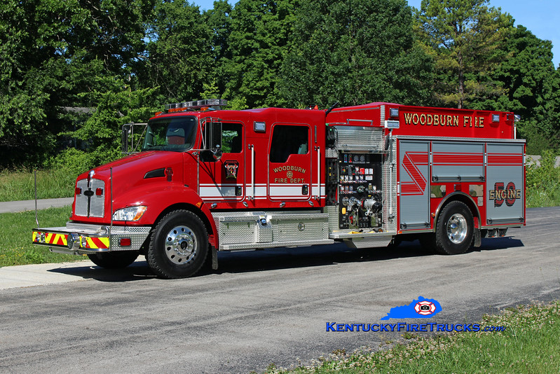 Woodburn  Engine 58<br /> 2016 Kenworth T-300/Pierce 1250/1000/30<br /> Kent Parrish photo