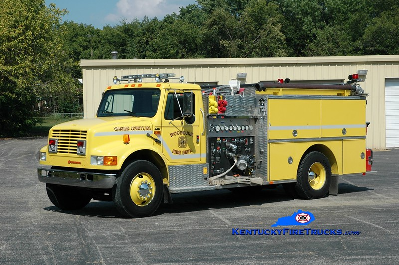 <center> Woodburn  Engine 54 <br> 1990 International 4900/Quality 1000/1000 <br> Greg Stapleton photo </center>